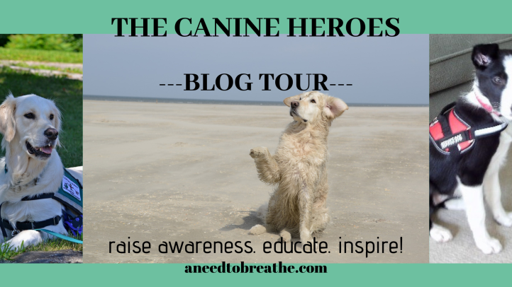 The Canine Heroes Blog Tour (Q&A WITH ALICIA PICON) – A Need to Breathe